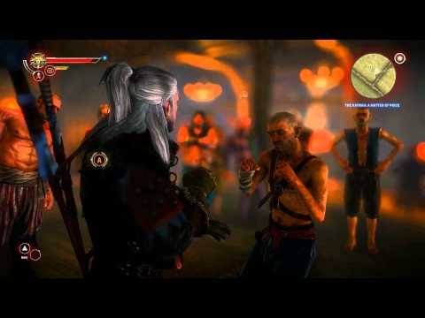 Let\'s Play The Witcher 2 - Part 13 - Arm Wrestling, Dice Poker and Fist Fighting [BLIND] (PC) (Enhanced Edition)