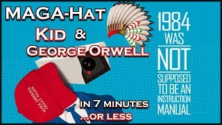 """MAGA Hat Boy vs Native American 