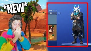 The *NEW* Tier 100 Skin & NEW MAP - Fortnite Season 5 Gameplay