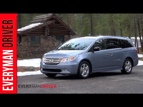 2013 Honda Odyssey Touring Elite DETAILED Review on Everyman Driver