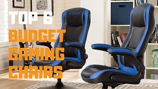 Best Budget Gaming Chairs in 2019 - Top 6 Budget Gaming Chairs Review