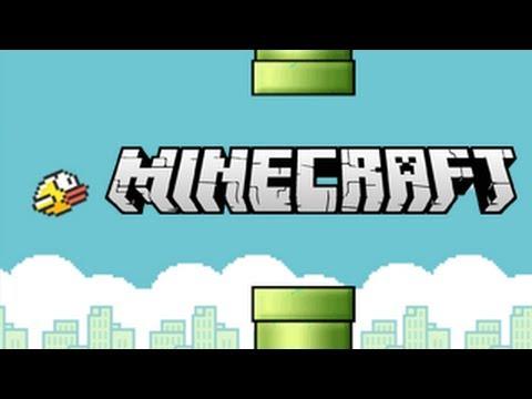 Minecraft Flappy Bird Game!