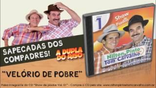 Velório de pobre - Nilton Pinto e Tom Carvalho - A Dupla do Riso