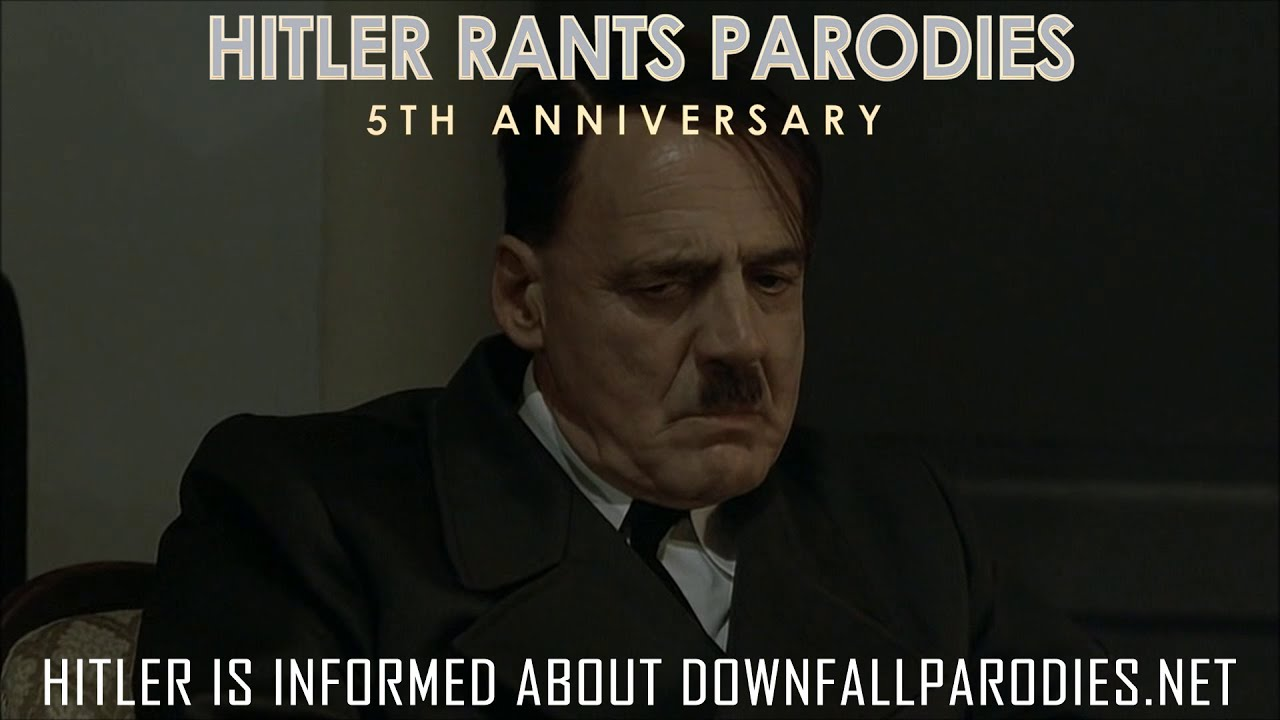 Hitler is informed about the new Downfall Parodies Website