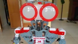 Meccano Meccanoid Robot Construction Pitfalls and CONTEST!