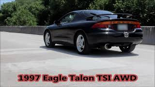 1997 Eagle Talon TSI AWD Launch and Full Throttle Pulls