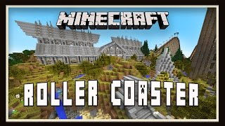 Minecraft: The Final Roller Coaster Building Episode!   (Scarland Roller Coaster Build Ep.40)