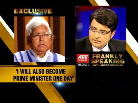 Frankly Speaking with Lalu Prasad - Part 1