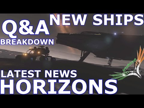 Elite Dangerous Horizons, New Ships, Collectables, Q&A Breakdown, Free Paint Jobs & Latest News