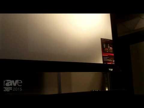 ISE 2015: Shenzhen Sams AV Tech Shows Off Their Screens