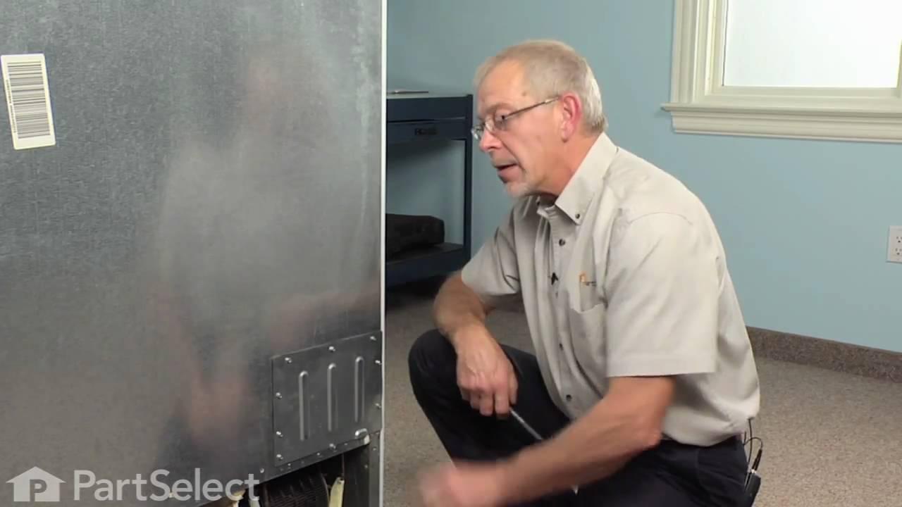 Refrigerator Repair Replacing The Main Control Board Ge