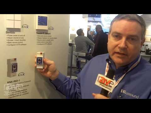 ISE 2015: Russound Shows Off the New KNX-Rio-1 Gateway Between KNX and Russound