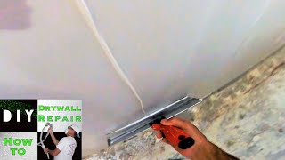 How to skim coat a wall in less then 10 minutes   Diy Drywall Tips and Tricks