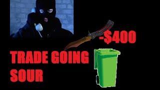 NEW CS;GO TRADE SCAM!!! $400+ IN LOSS!!!