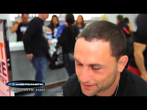 Frankie Edgar interview about TRT,MMA Judging, I.O.C. eliminating Wrestling from olympics