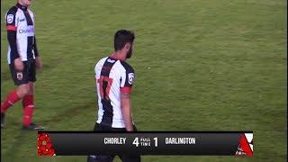 Chorley 4-1 Darlington - Vanarama National League North - 2017/18