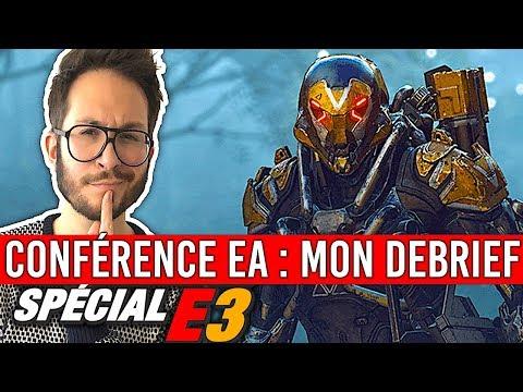 Electronic Arts en costaud : Anthem, Battlefield V, FIFA 19, Sea of Solitude... DEBRIEF E3 2018