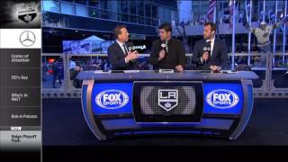 Ontario Reign Feature on LA Kings Live Pregame Show on Fox Sports West - 4/6/17