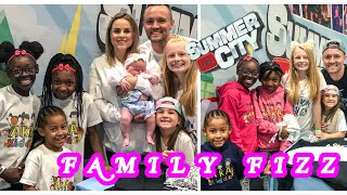 Summer In The City  Family Fizz Gave us One Million Smiles