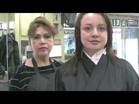 Corte de cabello en Capas medias y cortas - Cortes de cabelo em camadas - Layered Haircut
