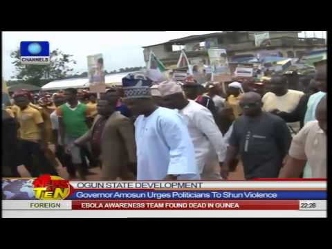 News@10: Anambra Government Demolishes Kidnappers Den 200914 Pt.2