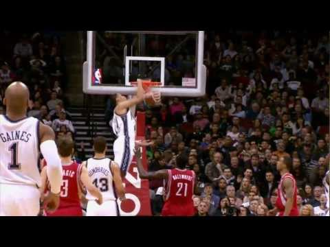 Top 10 NBA Dunks of 2012!