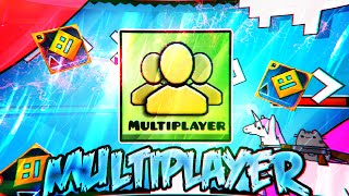 If Multiplayer was in Geometry Dash (Concept Video)
