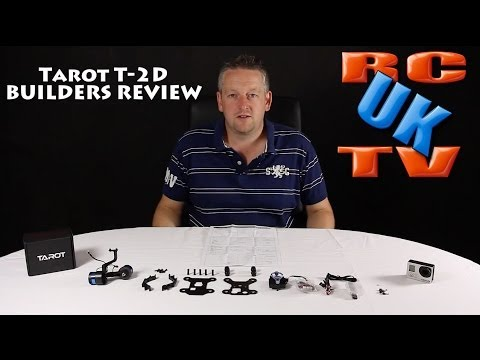Tarot T-2D Brushless Gimbal - Builders Review