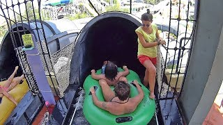 Black Thunder Water Slide at Aqua Fantasy