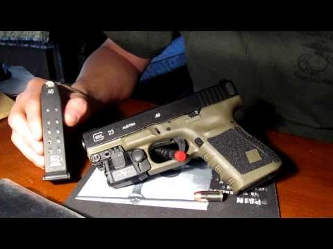 Glock 23OD w/ mods & upgrades