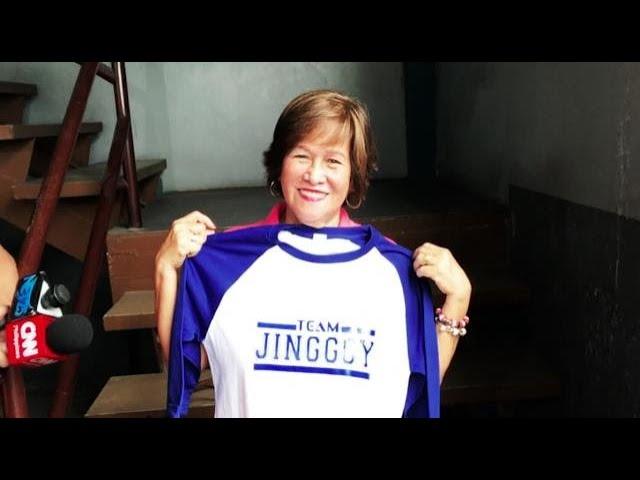 Supporters await release of ex-Sen. Jinggoy Estrada at Camp Crame