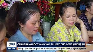 Ph huynh Ngh An c n n o b c th m ch n tr ng m m non cho con VTC News