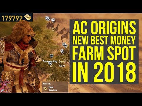 New Assassin's Creed Origins Money Farm Spot IS THE BEST (AC Origins Money Farm - AC Origins Farming