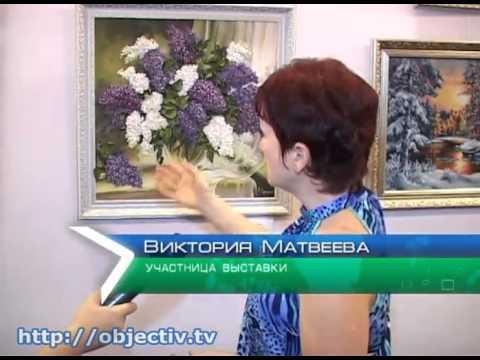 Харьковские мастера показали разные техники вышивки
