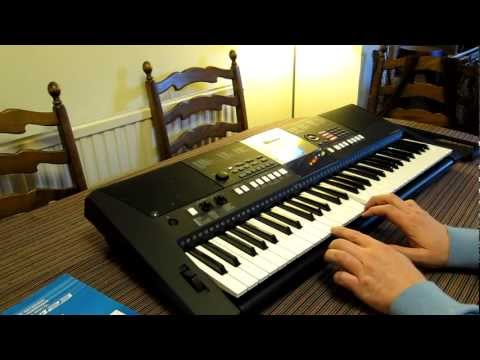 Yamaha PSR E423 digital keyboard - hands on review & USP features