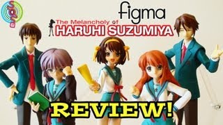 Figure Review: Figma - Main Cast of Haruhi Suzumiya by GoodSmile Company