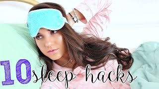How To Fall Asleep FAST! | 10 SLEEP HACKS When You CAN'T SLEEP !!