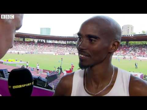 European Athletic Championships 2014 Mo Farah and Greg Rutherford