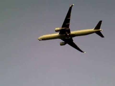 Air Canada 777-300ER takeoff Rwy 06L Toronto Pearson intl