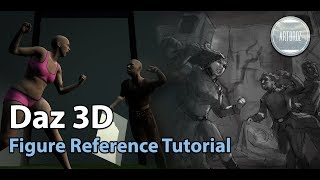 Daz 3D Figure Reference Tutorial