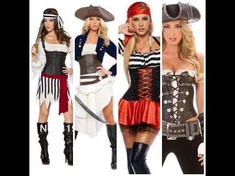 Disfraz Casero de Pirata ☆disfraz de Pirata Mujer☆