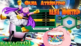 Dragon Ball Xenoverse Guia Atributos- Raza Monstruo (Chico)