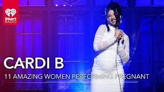Cardi B + 10 Other Amazing Women Who Performed While Pregnant | Fast Facts