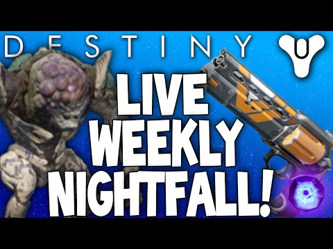 Destiny: Weekly Nightfall Live - Phogoth / The Summoning Pits (The Devil You Know Legendary)