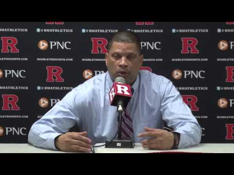 RVision: Coach Eddie Jordan post game press conference - Purdue