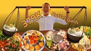 """Siêu Bất Ngờ khám phá nhà hàng """"Buffet Gánh"""" hơn 70 món ăn 3 Miền ở Sài Gòn   Saigon Travel"""
