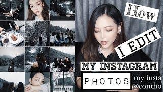 Thỏ Chụp Và Chỉnh Ảnh Instagram Như Thế Nào | How I Edit My Instagram Photos |