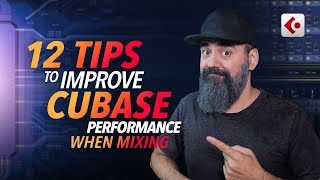12 Useful TIPS To Improve CPU Performance when MIXING in Cubase