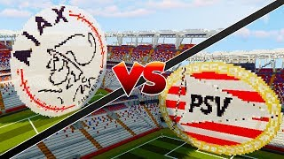 AJAX VS PSV - Minecraft Mod Versus