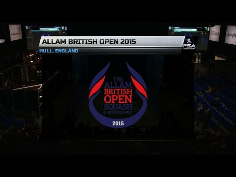 Squash: British Open 2015 Round Up : Women's Final